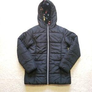 R88 S Rothschild Fleece Lined Hood Girls Coat
